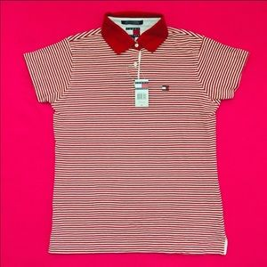Tommy Hilfiger Striped Polo